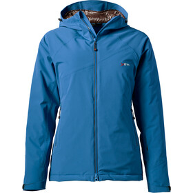 Yeti Rhonga Hardshell Down Jacket Damen ensign blue/deep brown
